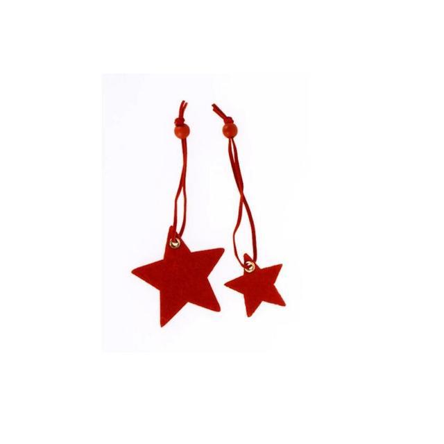 Tres Divin Christmas Star Felt Present Toppers