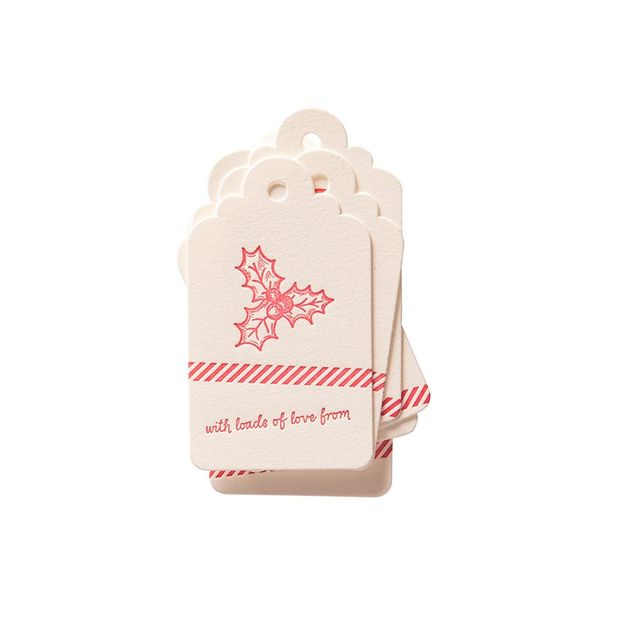 Paper Elephant Gift Tag