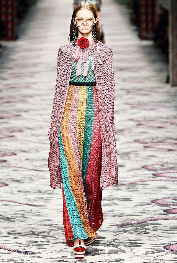 The Runway: GucciSee Gucci's latest shoes, they're amazing.