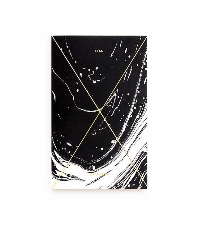 Julia Kostreva Gold Foil Any-Year Daily Planner