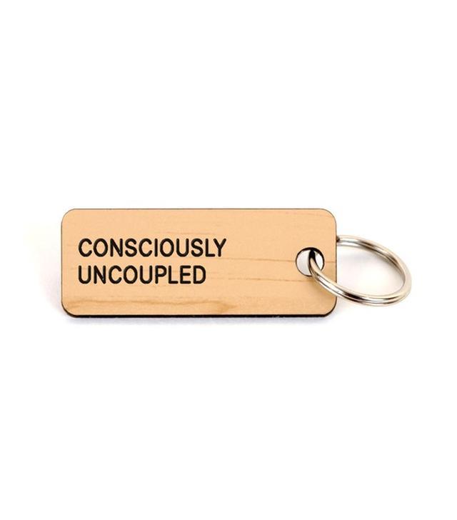 Various Keytags Consciously Uncoupled Keychain