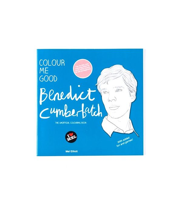 Mel Elliot Colour Me Good Benedict Cumberbatch