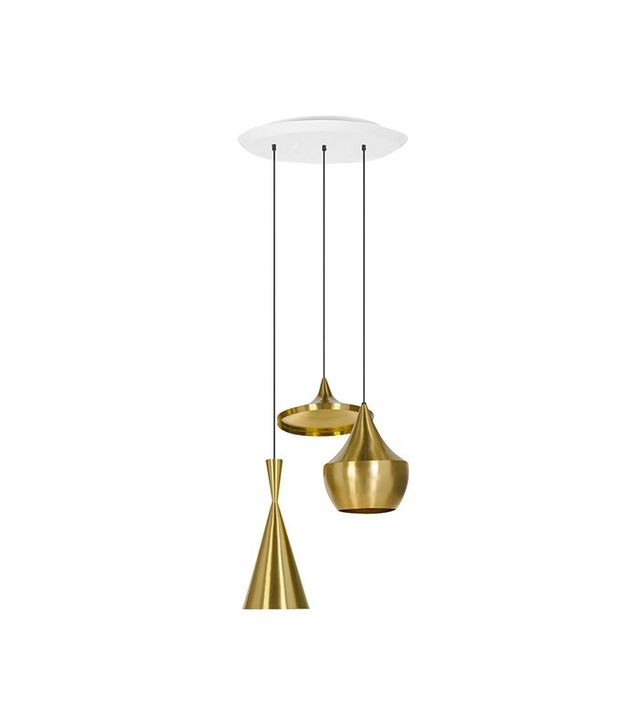 Tom Dixon Beat Shade Brass 3ER Pendant System