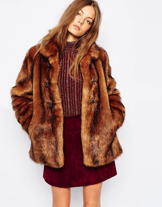 Urbancode Faux Grizzly Fur Jacket