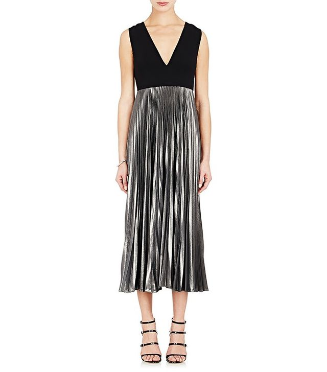 A.L.C. Emilia Pleated Dress