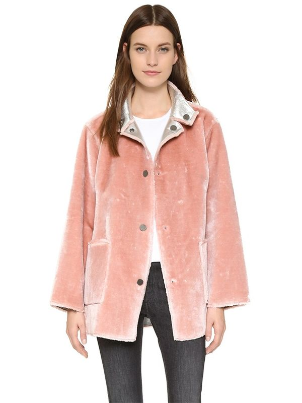 The Best Coats to Wear Over Your NYE Dress | WhoWhatWear