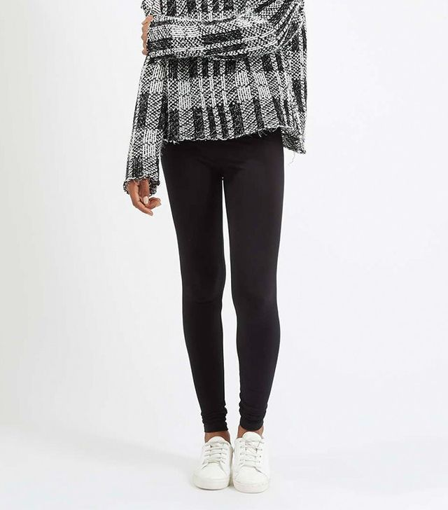 Topshop High-Waisted Extra Long Leggings