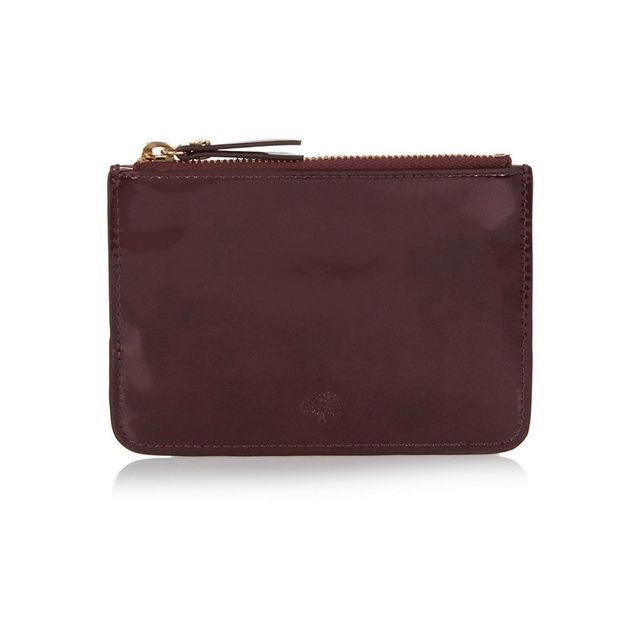 Mulberry Patent Leather Pouch