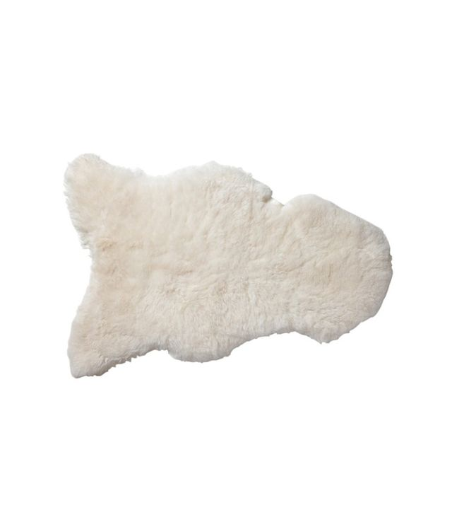 Serena and Lily Sheepskin Throw