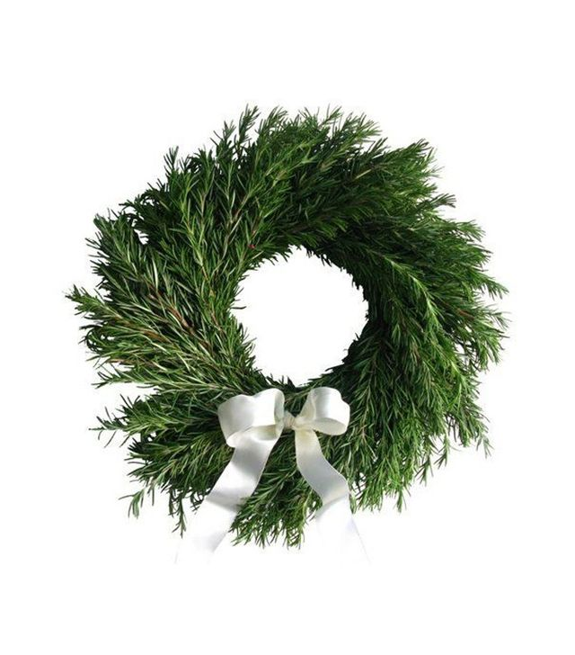 "From the Garden 16"" Rosemary Wreath"