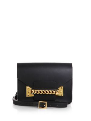 Sophie Hulme Chain Envelope Shoulder Bag