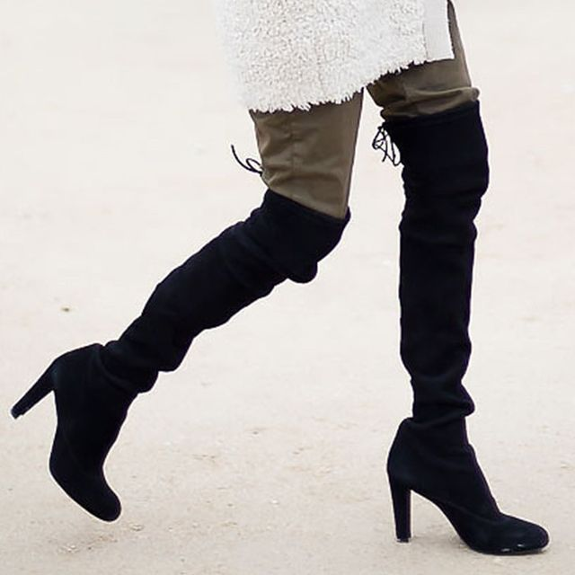How to Style Thigh-High Boots for Your Next Date
