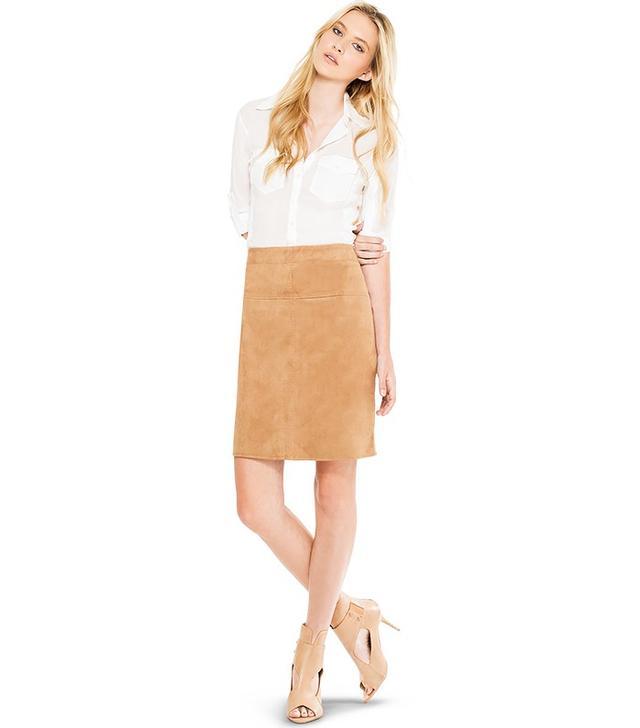 Max Studio Vicuna Pencil Skirt