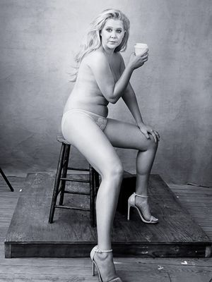 See Amy Schumer as a Lingerie Model for the 2016 Pirelli Calendar