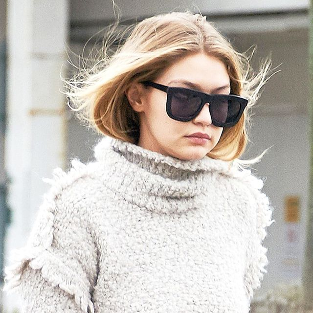 The Gigi Hadid Way to Wear Your Turtleneck Sweater