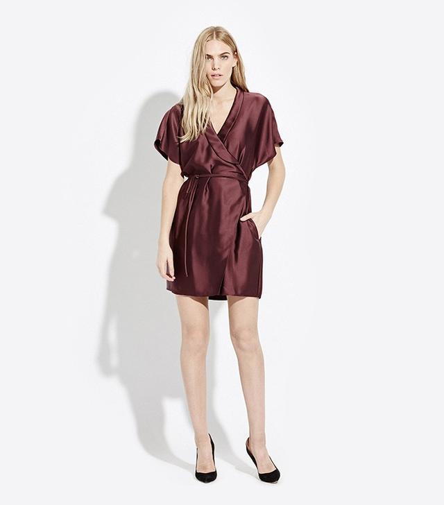 AYR Tie Waist Wrap Dress