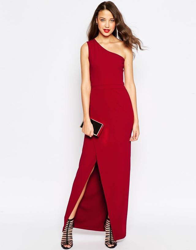 ASOS One Shoulder Maxi Dress