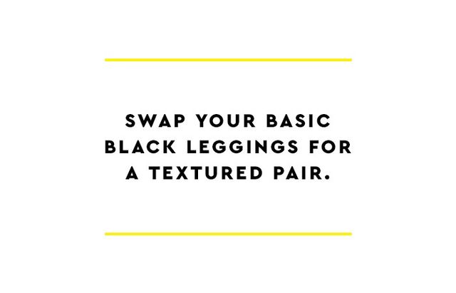 As we've discussed, we're not exclusively anti-leggings here at Who What Wear; we just advise that there areright (and many, many wrong) ways to wear them. To start, try opting out of the...