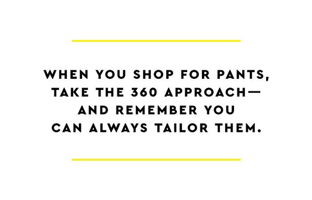Plenty of women make the mistake of only looking at the front of a pair of pants in the fitting room to see how they look; but you need to examine the fit from the front, sides, and back to really...
