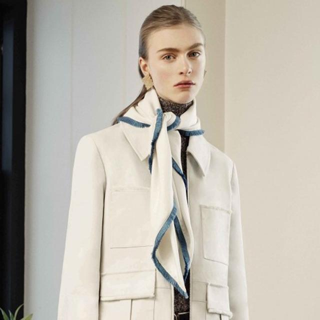 Trademark Silk Fringe Scarf