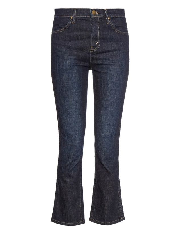 The Great The Nerd Mid-Rise Kick-Flare Jeans