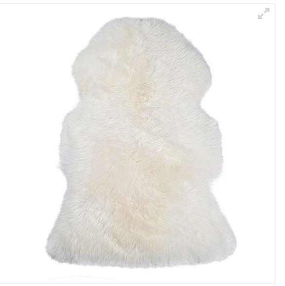 NSW Leather Co Sheepskin Animal Hide Rug
