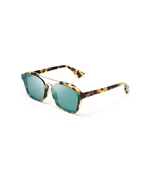 Dior Abstract Square Mirrored Sunglasses