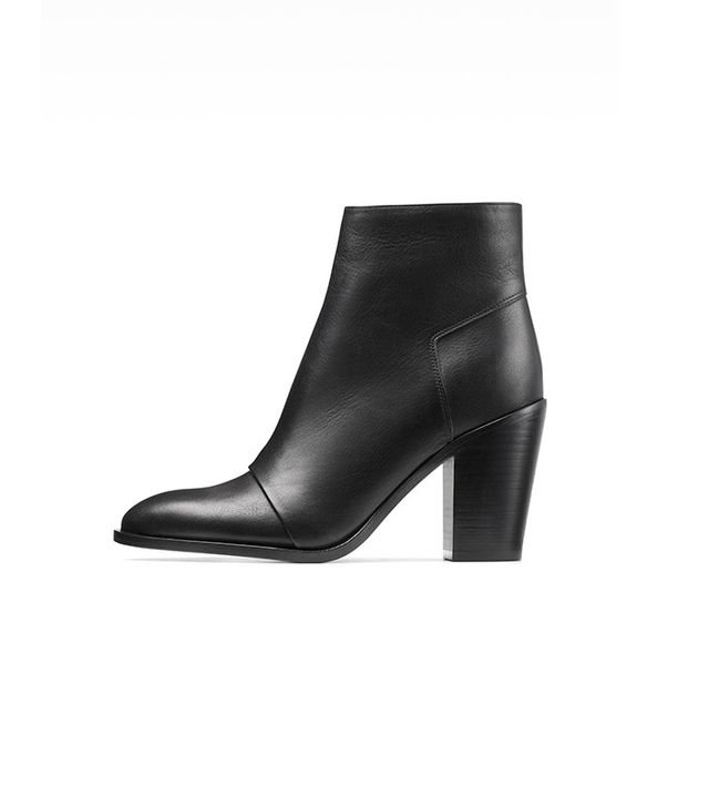 Vince Ennis Leather Ankle Boots