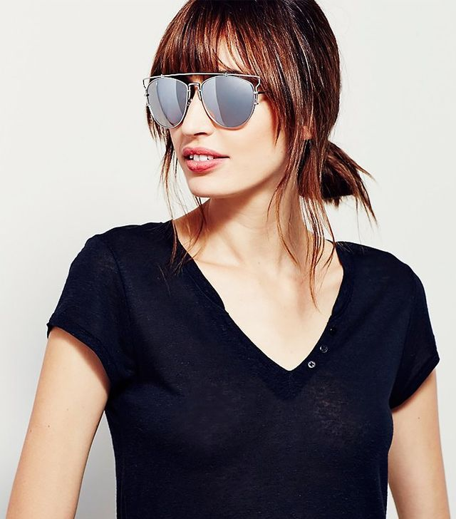 Free People Top Down Aviator