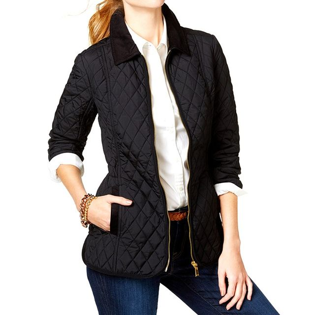 Tommy Hilfiger Quilted Zippered Jacket