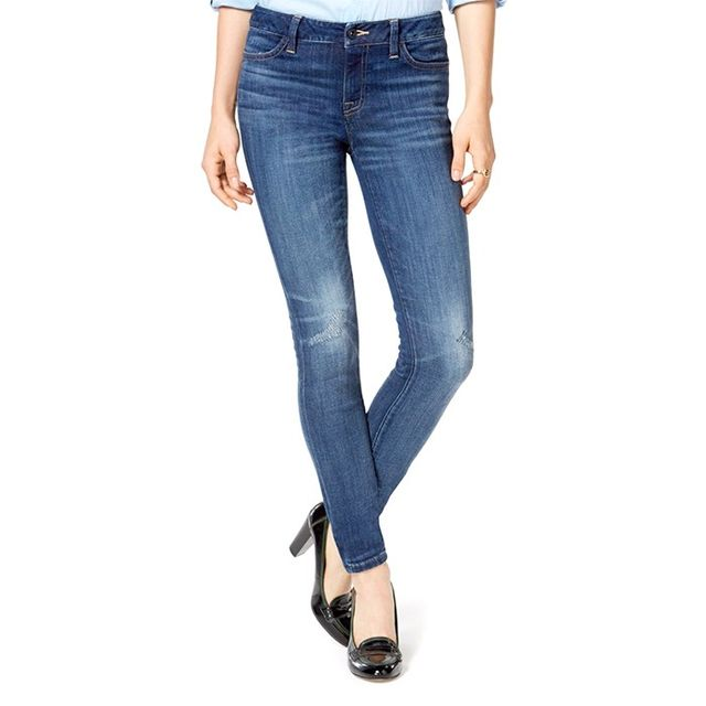 Tommy Hilfiger Skinny Distressed Denim Leggings