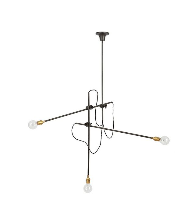 Workstead 3-Arm Chandelier