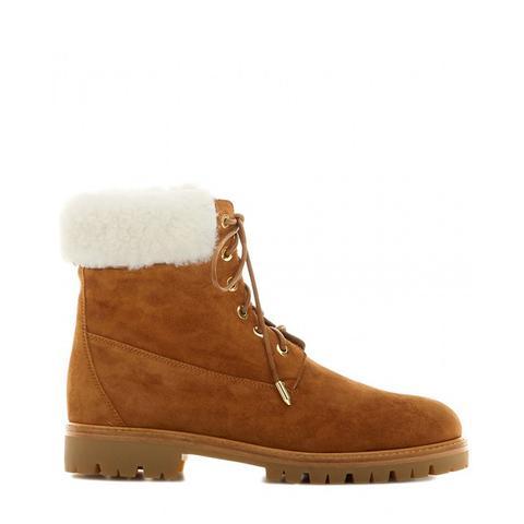 The Helibrunner Fur-Trimmed Boots