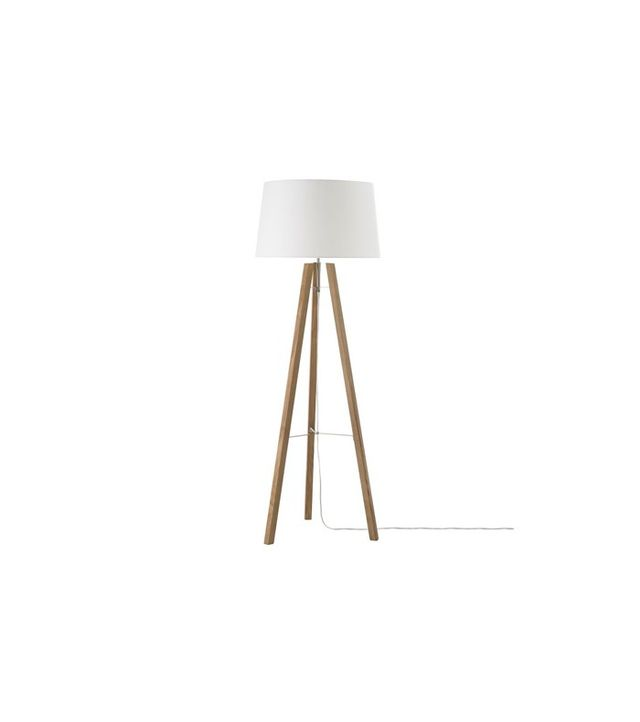 West Elm Tripod Wood Floor Lamp