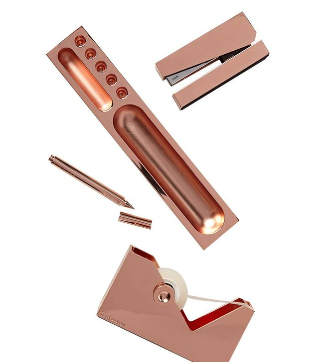 Tom Dixon Copper-Clad Desk Accessories