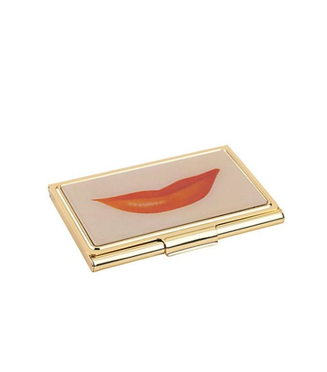 Kate Spade New York Lips Business Card Holder