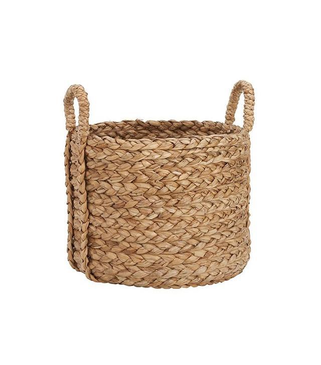 Pottery Barn Beachcomber Extra-Large Round Basket