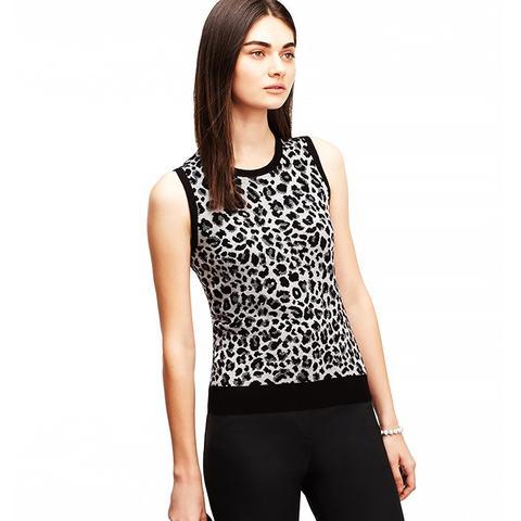 Leopard Print Ann Shell
