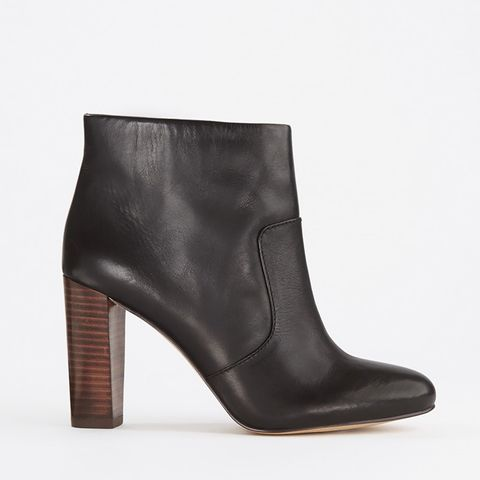 Carly Leather Booties