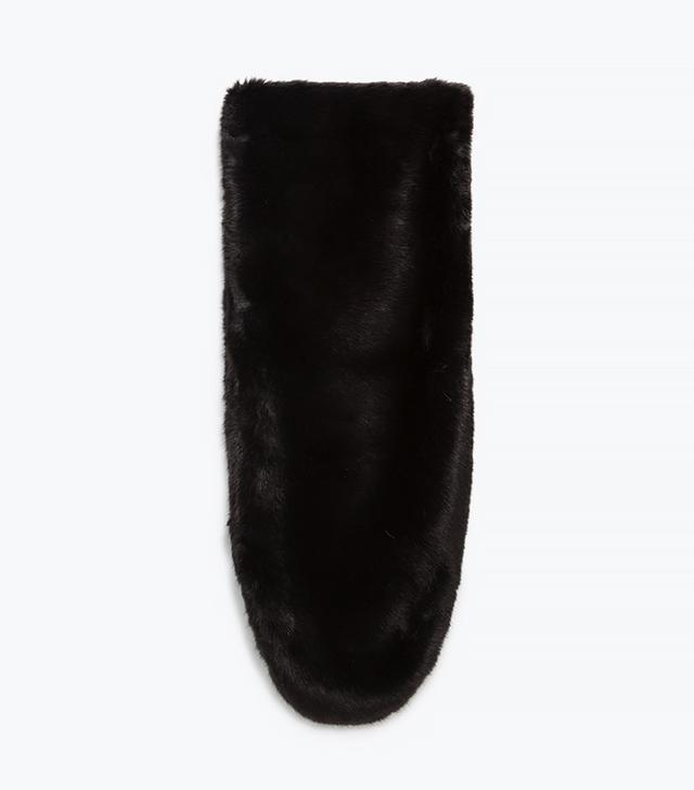 Zara Maxi Faux Fur Stole