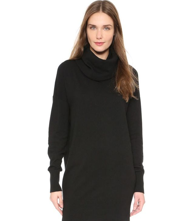 DKNY Cowl Neck Long Sleeve Tunic