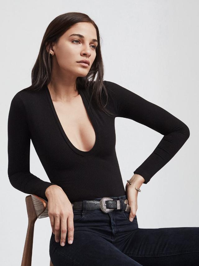 Reformation Gloria Bodysuit