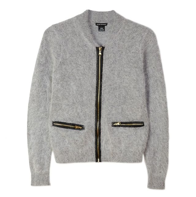 Club Monaco Zip Cardigan