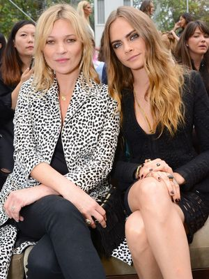 Cara Delevingne and Kate Moss Are Teaming Up for a Unique Project