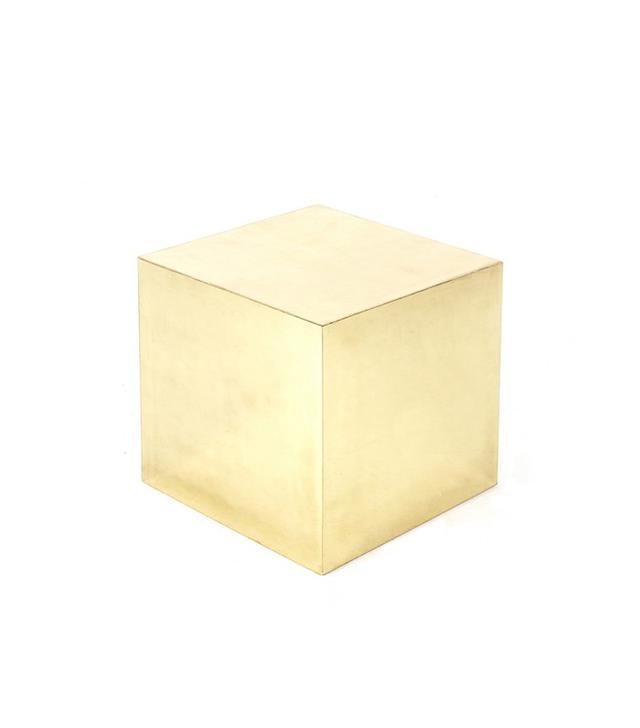 Trunk Brass Cube