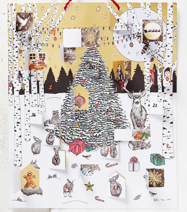 Sullivan Elaine Anlyan Glowing Morning Advent Calendar