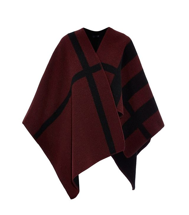 Burberry Prorsum Wool and Cashmere-Blend Reversible Cape
