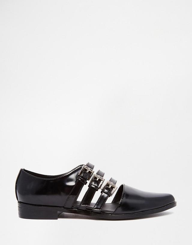 ASOS Magic Trick Flat Shoes