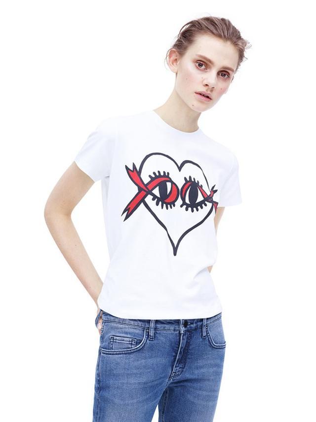 Victoria Beckham World AIDS Day T-Shirt