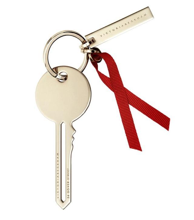 Victoria Beckham World AIDS Day Key Keyring